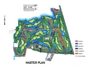 Prestige Golfshire master plan
