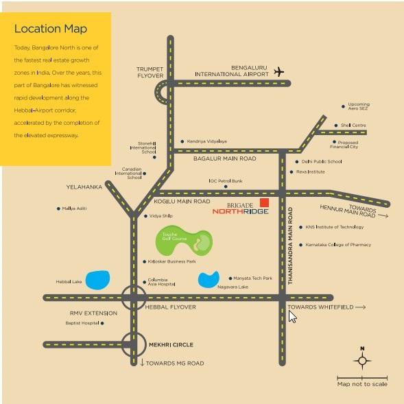 brigade_northridge_location_map