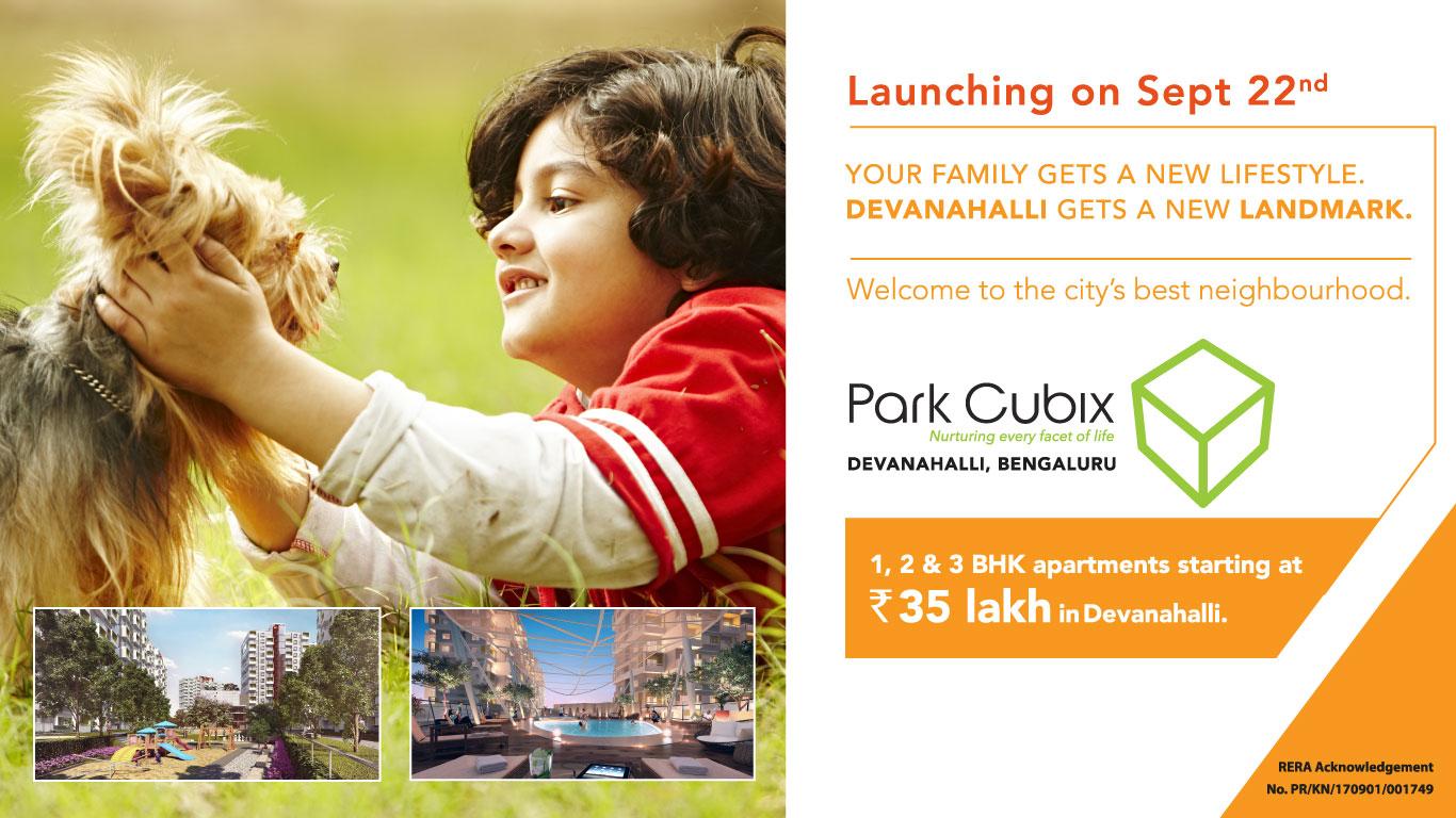 park cubix event