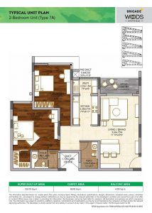 2BHK Type7A
