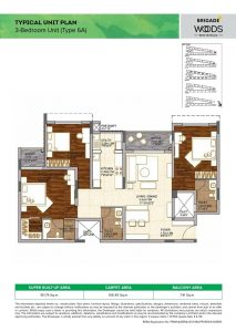 3BHK Type6A