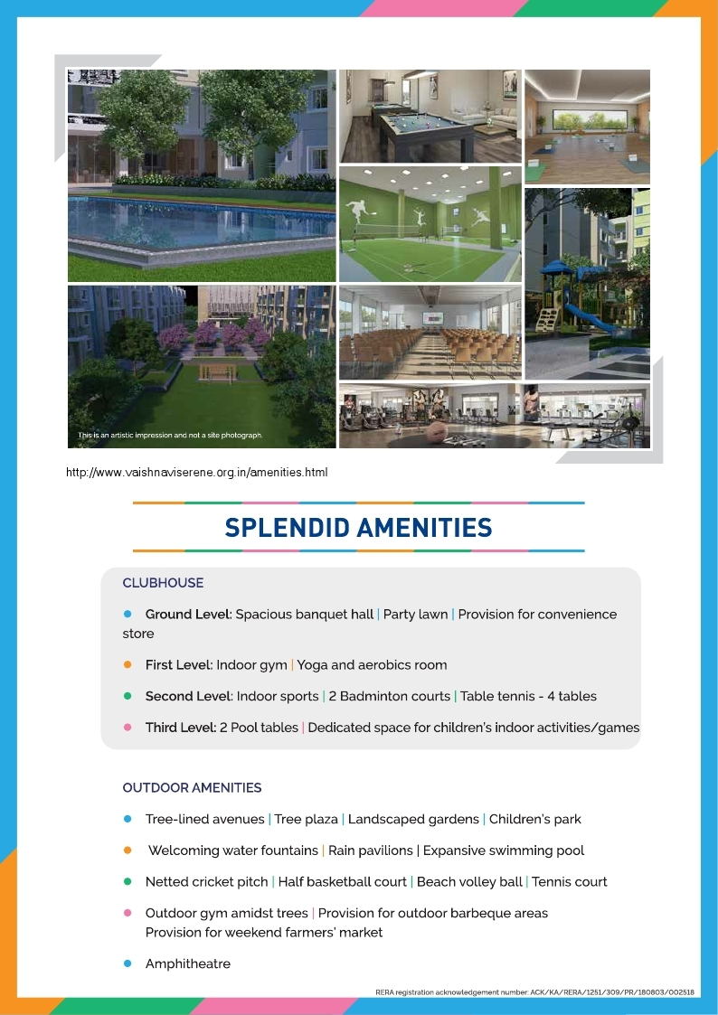 Vaishnavi Serene Amenities